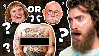 Who Has The Crazy Tattoo? (Match Game)