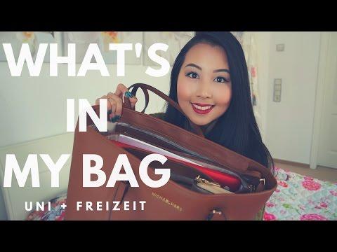 WHAT'S IN MY BAG - Uni + Freizeit | Kim Berliée