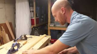 How to Make a Rabbet With Hand Tools in Oak.