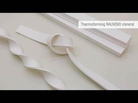 Thermoforming RAUVISIO mineral