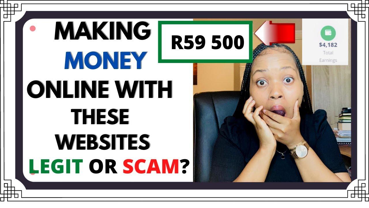 "EARNING MONEY ONLINE ""Quick"": Rainmakerssa, SurveyJ: LEGIT OR FRAUD? thumbnail"