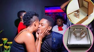 Full Video Of Zodwa Wabantu Proposing With Prices Of The Rings