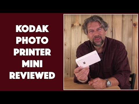 The Tiny, Portable Kodak Photo Printer Mini – REVIEWED!