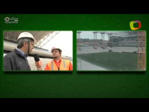 Empresa explica cor feia na Arena Corinthians