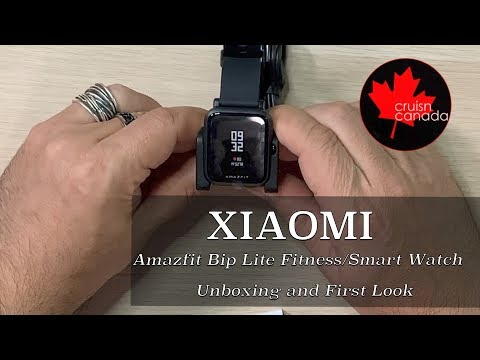 Xiaomi Amazfit Bip Lite Fitness / Smart Watch | Unboxing and First Look