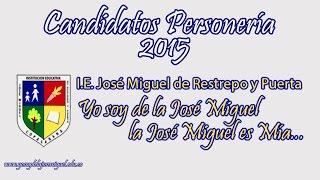preview picture of video 'Presentación de candidatos a la Personería Estudiantil 2015'