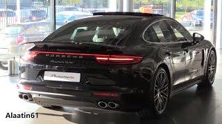 Porsche Panamera 2017 Start Up, Exhaust Sound, In Depth Review Interior Exterior
