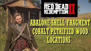 Red Dead Redemption 2 Abalone Shell Fragment and Cobalt Petrified Wood Locations