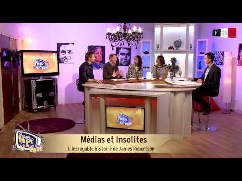 Chronique: L'incroyable histoire de James Robertson