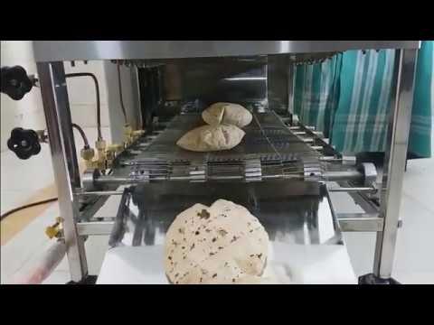 MS Semi Automatic Chapati Making Machine