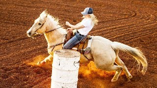 Listen To The Thundering Sounds Of Barrel Racing W/ Young Star Jackie Ganter | Sound Of Sport
