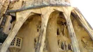preview picture of video 'La Sagrada Familia (HD) - Barcelona'