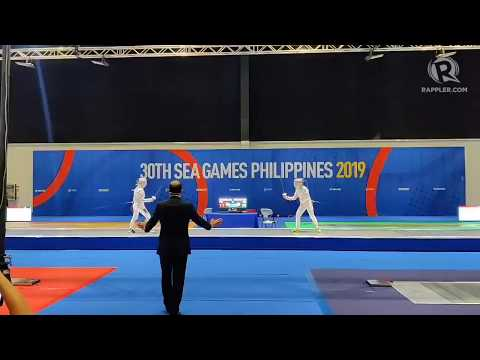 Jylyn Nicanor nails PH's first SEA Games fencing gold