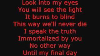Falling in Reverse - Don't Mess With Ouija Boards Lyrics
