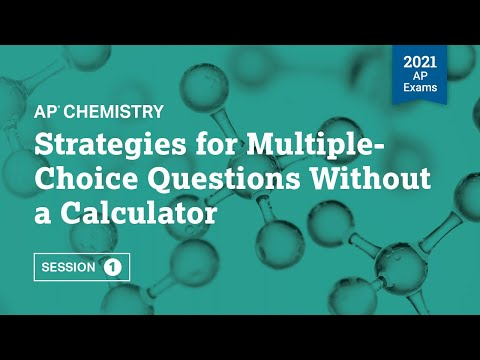 Strategies for Multiple-Choice Questions Without a Calculator   Live ...
