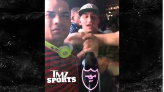 Johnny Manziel Parties With Bottle Of Champagne, Gets Demoted To 3rd String
