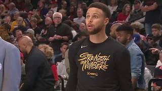 Golden State Warriors vs Portland Trail Blazers : May 18, 2019