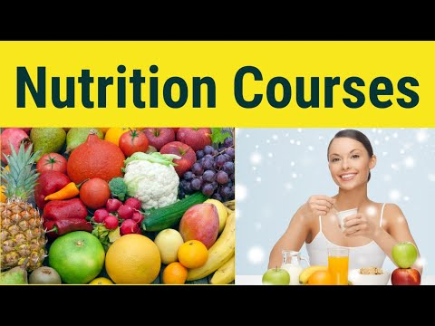 Nutrition Courses | Nutrition Courses Online - YouTube