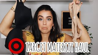 TARGET HAUL || BRAS, MATERNITY JEANS AND MORE!