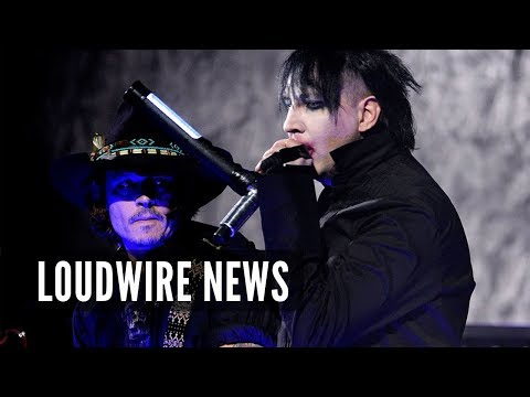 Johnny Depp Joining Marilyn Manson's Band?