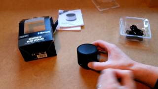 Silvercrest Bluetooth Mini Speaker Unboxing Review