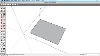 SketchUp Training Series: Line tool