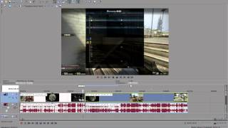 Как в Sony Vegas Pro обрезать и соединить видео?