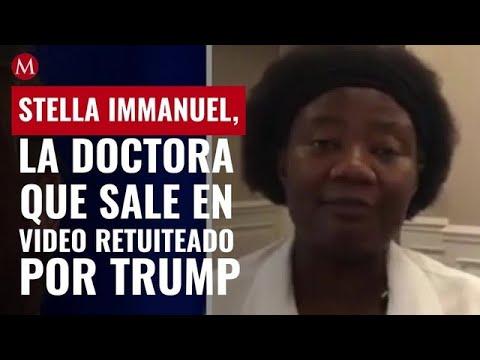 Trump comparte video sobre teoría de 'reptilianos' en Estados Unidos