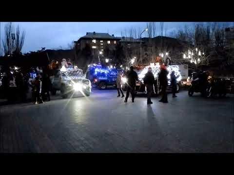Крым 2020, Судак и новогодняя елка. Как зажигали