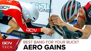 The Cheapest Aero Upgrade For Cycling?   GCN Tech Wind Tunnel Tested
