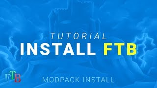 How to install any Feed The Beast Modpack