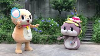 Japanese Mascot Funny Video.
