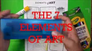 Elements Of Art EOA  - Where To Start For Art Teachers And Students - Jasey Crowl Draws