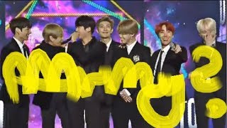 bts saying 'army' right after receiving an award