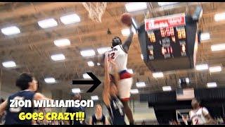 "Zion Williamson BAPTIZES Defender + Crazy Block Party! ""Get That OUT!"""