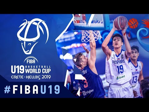 LIVE - Philippines v Serbia - FIBA U19 Basketball World Cup 2019
