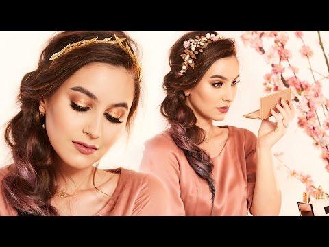 Romantic & Dreamy Valentine's Day Makeup Tutorial | Karima McKimmie