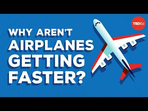 Proč jsou letadla pomalejší než dříve?
