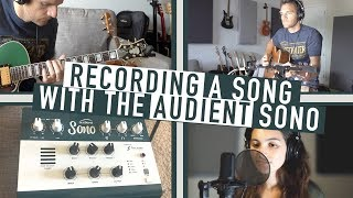 Sean Daniel Records An Original Song with Audient SONO