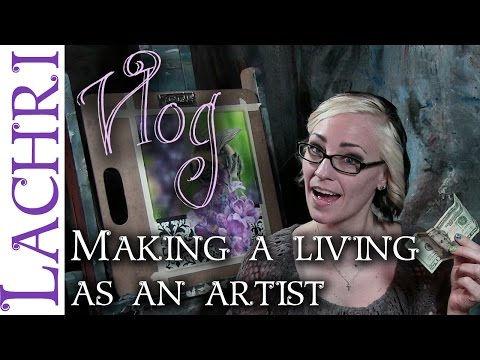How I make a living as an artist – art tips w/ Lachri