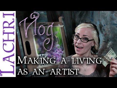 How I make a living as an artist – art tips w/ Lachri