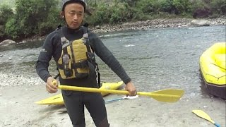 How to do RIVER RAFTING / River Rafting Tutorial / Rafting Training