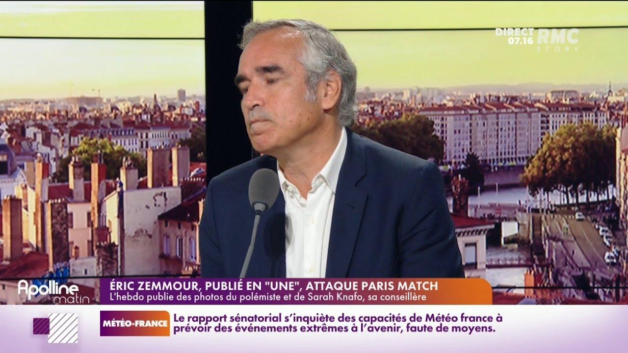 Bruno Jeudy s'explique sur la Une de Paris Match