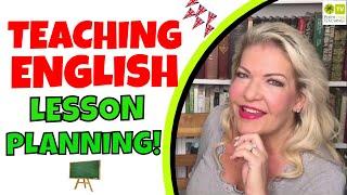 TEACHING ENGLISH LESSON PLANS │ LESSON PLANNING ESL