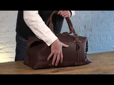 Heritage Leather Duffle Bag Video