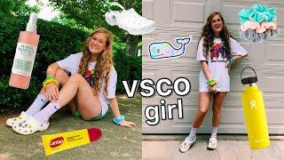 becoming the ultimate VSCO girl