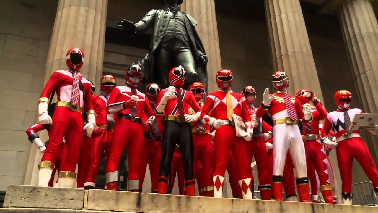 The Power Rangers Take On NYC