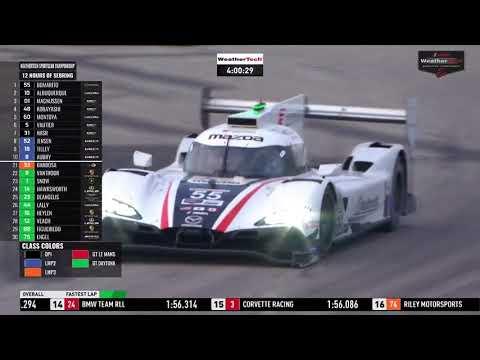 IMSA WTSC第2戦セブリング12時間 レース動画3