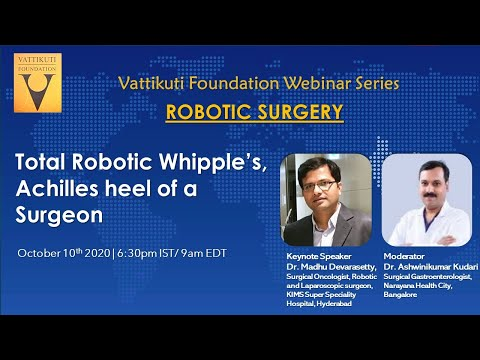 Total Robotic Whipple's- Achilles Heel of a Surgeon