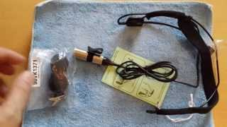 Unboxing Shure WH20XLR Nackenbügel Mikrofon